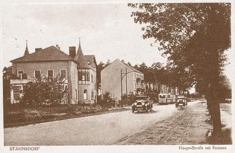 Geschichte der Gemeinde Stahnsdorf Postgeschichte